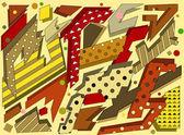 Obrázek - geometrických tvarů