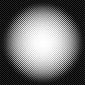 Circle halftone pattern / texture Monochrome halftone dots