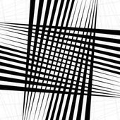 Monochrome texture monochrome pattern with random shapes (lines) Abstract geometric illustration