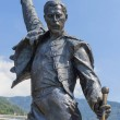 Постер, плакат: Monument of singer Freddie Mercury Montreux Switzerland