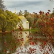 Постер, плакат: Autumn landscape in Catherine Park Tsarskoye Selo Pushkin Saint Petersburg