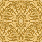 Seamless floral pattern for design vector Illustration
