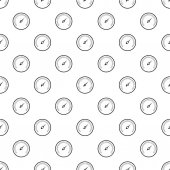 Speedometer for cars pattern Simple illustration of speedometer for cars vector pattern for web
