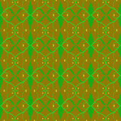 Green pattern brown background vector graphics wallpaper