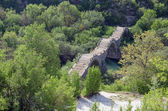 Kalogeriko triple arched stone bridge, Epirus, Greece
