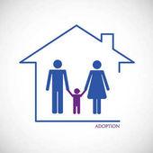 A pair adopts a boy