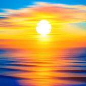 Beautiful twilight landscape