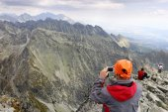 Gebirge hohe Tatra in der Slowakei