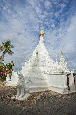 viele, menschen, besuchen, birmesischen, stil, chedi - B149005481