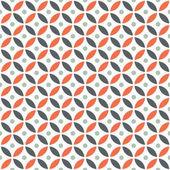 Varrat nélküli metsző geometriai Vintage narancs és barna kör minta