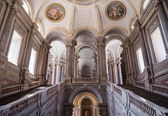 Grand Staircase of Honour in Royal Palace, Caserta, Italy