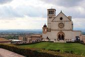 Katedrála v Assisi v Itálii