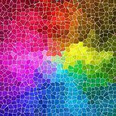 Barevné abstraktní mramorové nepravidelné plastové kamenná mozaika vzorek textury pozadí s bílým zálivky - plnospektrální duhové barvy