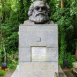 Постер, плакат: Tomb of Karl Marx at the Highgate Cemetery in London