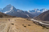 Himalayas mountains landscape in Everest region, Nepal