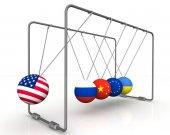 Zákon zpětné účinnosti sankcí v geopolitika. Koncept