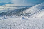Morgen in der hohen Tatra