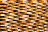 Trojúhelníkový tvar dřevěný zásobník vzor