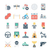Here are the icons of Gaming They can be used for sports and game You will find icons of video games joystick and other equipment like casino playing cards chess billiards snooker and other outdoor and indoor playing activities