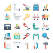 This Construction Vector Icons set is filled with Industrial processes construction tools and equipments aimed for use in your projects related to industry or construction