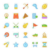 Collection of Sport Colored Vector icons Hope you can use it at your upcoming design projects
