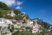 Rozruch na pobřeží Amalfi