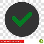 Igen kerek vektor Eps ikon