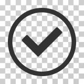 Ok lekerekített Vector Icon