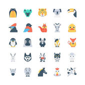 Your own little zoo is here in this Animals and Birds Vector Icons Pack that would be perfect for all your kiddo projects and animal themed work