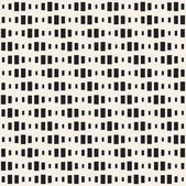Repeating Rectangle Shape Halftone Modern Geometric Lattice Texture Vector Seamless Monochrome Pattern