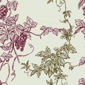 A szőlő ágai minta