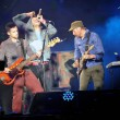 Постер, плакат: Coldplay Guy Berryman Chris Martin and Jon Buckland