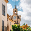 Постер, плакат: Town hall in Old Town Alcudia Mallorca Spain