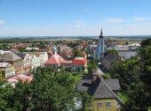 Letní pohled z města Javorník