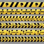 Постер, плакат: Danger tape set