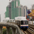 Постер, плакат: Sky train in Bangkok