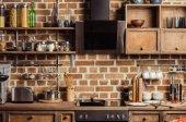 Moderne Küche Interieur