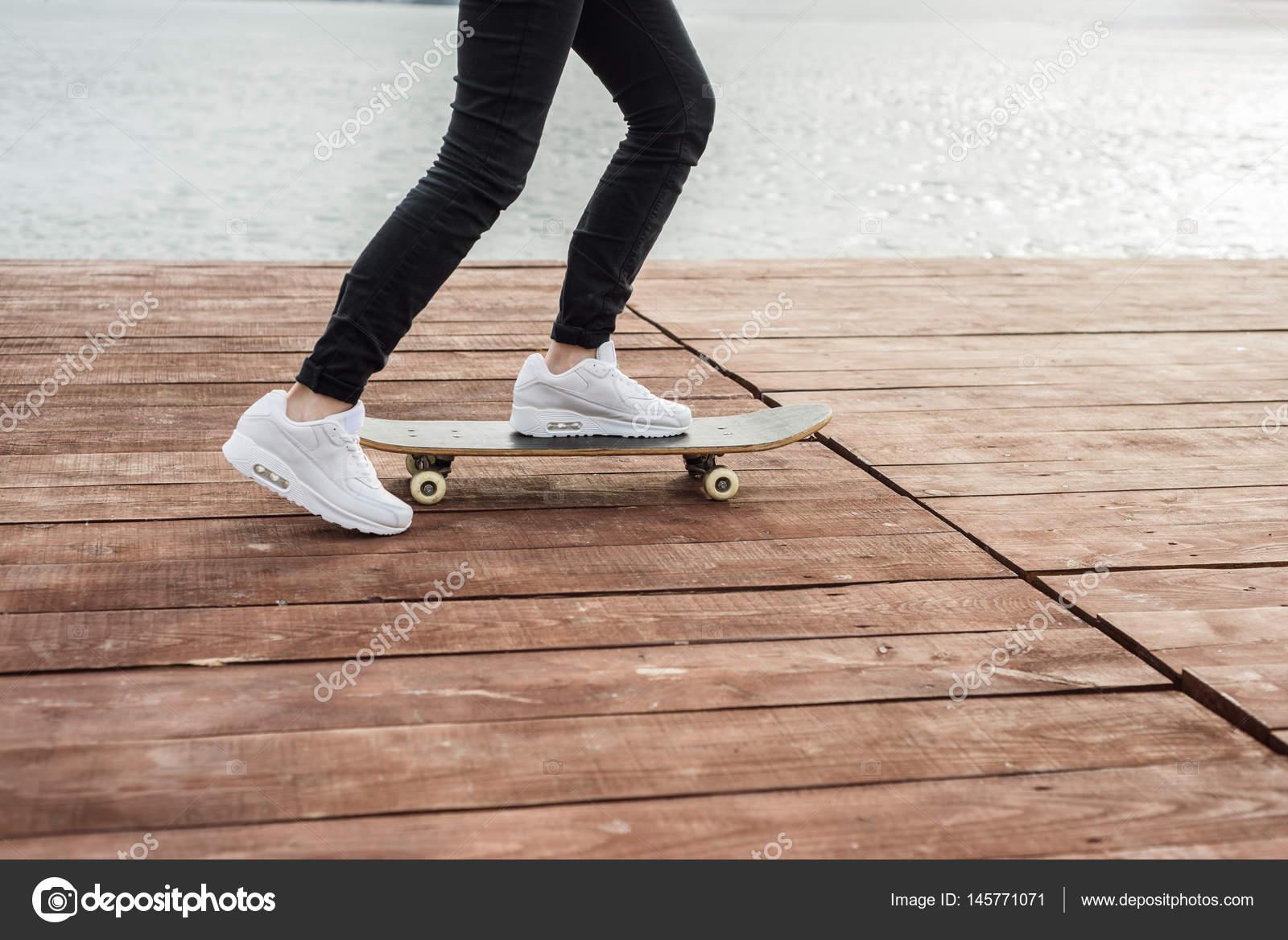 Cop skateboard kid