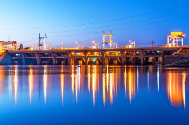 Kyiv Hydroelectric Power Plant, Ukraine