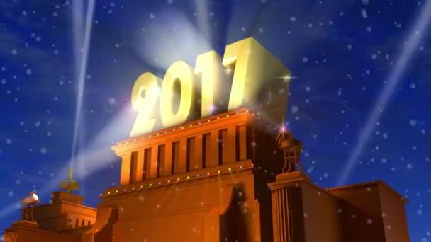 Nový rok 2017 koncept