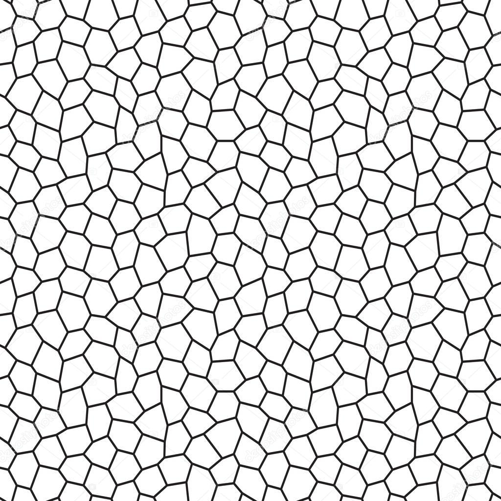 Hexagon Pattern Vector Interesting Decorating