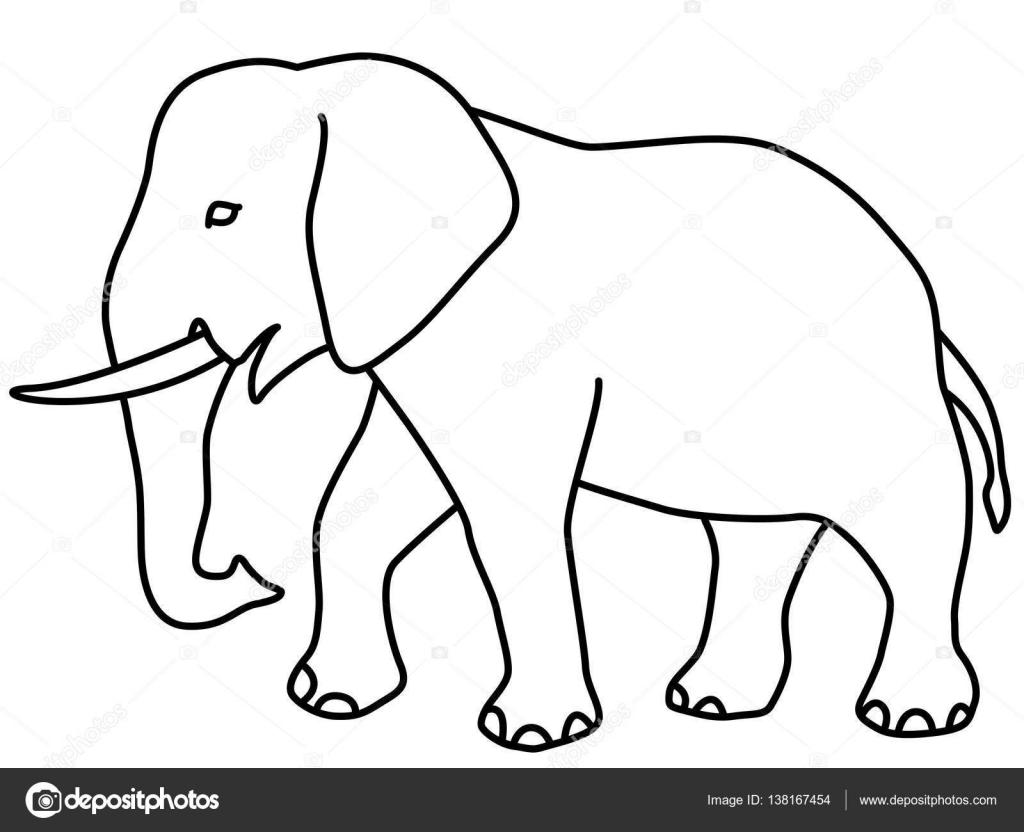μεγάλο μαύρο ελέφαντα πουλί