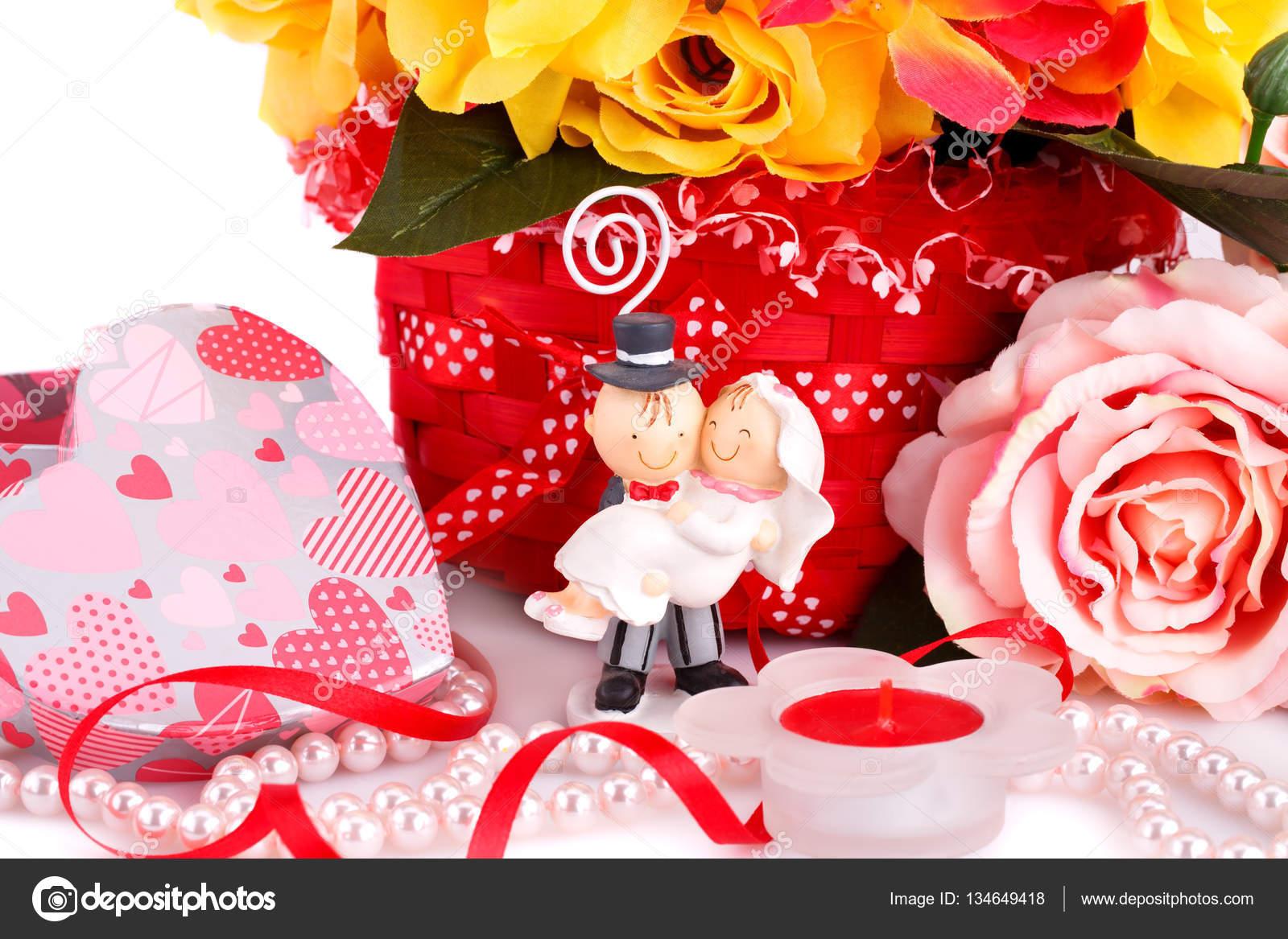 Wedding day decoration — Stock Photo © ruzanna #134649418