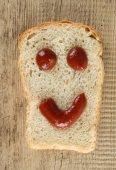Krajíc chleba s úsměvem