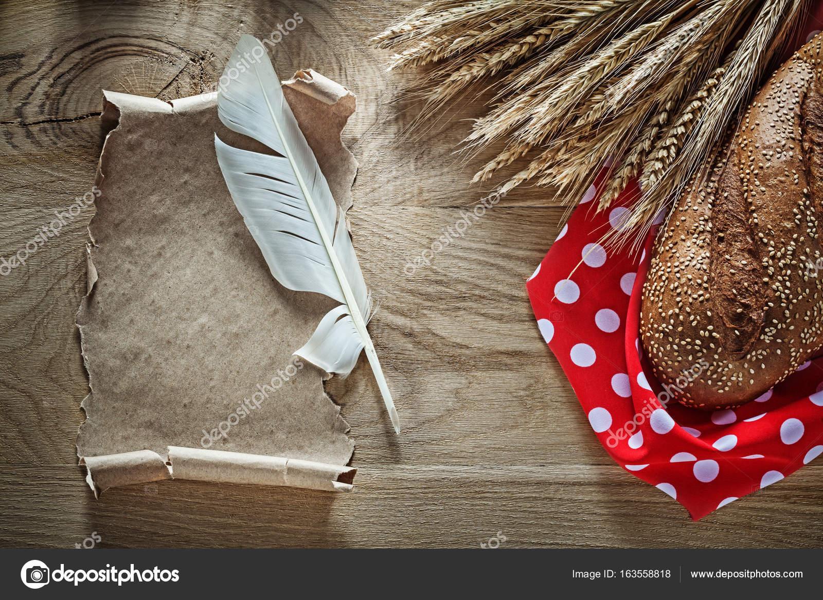 Resultado de imagen para Imágenes de pluma y pan