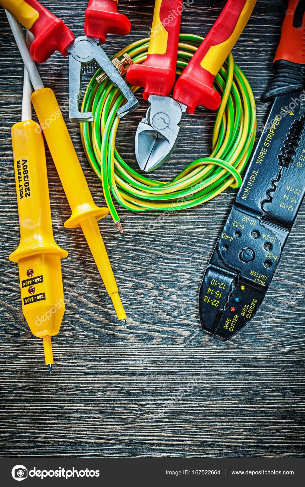 Elektrische Tester Vornschneider gerollt Isolierung Kabelmesser ...