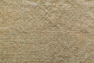 background for design burlap closeup