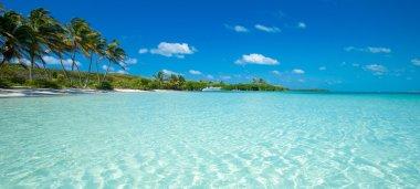 "Картина, постер, плакат, фотообои ""пляж и тропическое море"", артикул 126542432"