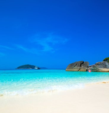 Tropical beach at Maldives