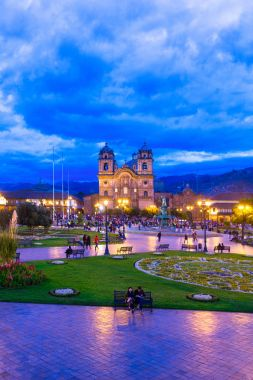 Cuzco cathedral church